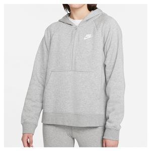 Women`s Sportswear Club Essential 1/4-Zip Fleece Hoodie