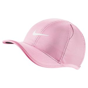 Juniors` AeroBill Featherlight Tennis Cap Pink Foam