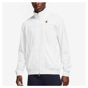 Men`s Court Heritage Tennis Jacket White
