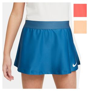 Girls` Court Dri-FIT Victory Flouncy Tennis Skort