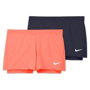 Girls` Court Dri-FIT Victory Tennis Shorts