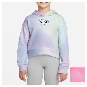 Girls` Sportswear Pullover Hoodie