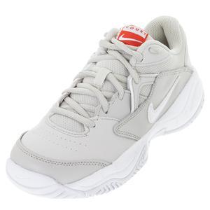 Women`s Court Lite 2 Tennis Shoes Light Bone and White