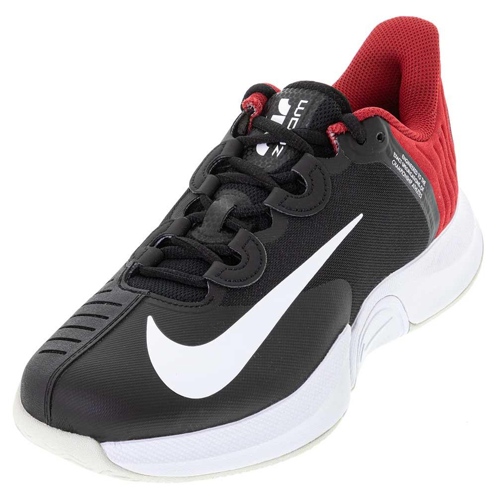 Men's Air Zoom Gp Turbo Tennis Shoes Black And White