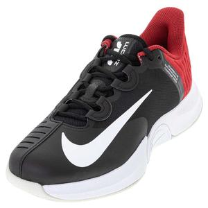 Men`s Air Zoom GP Turbo Tennis Shoes Black and White