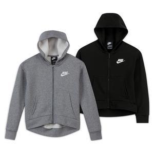 Girls` Sportswear Club Fleece Full-Zip Hoodie