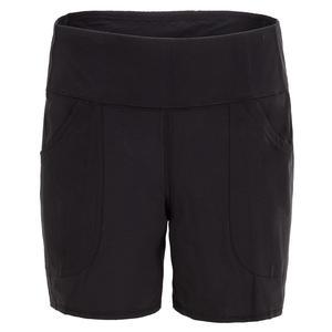 Women`s Pull On Tennis Short Black