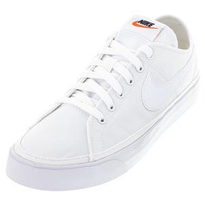 Women`s Court Legacy Canvas Tennis Shoes White