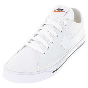 Men`s Court Legacy Canvas Tennis Shoes White