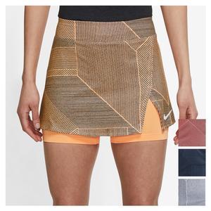 Women`s Court Victory Printed Tennis Skirt