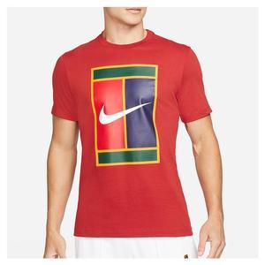 Men`s Court Logo Tennis T-Shirt