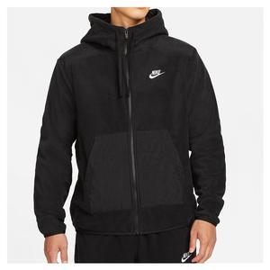 Men`s Sportswear Style Essentials+ Polar Fleece Full-Zip Hoodie