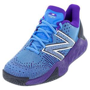 Men`s Fresh Foam Lav V2 D Width Tennis Shoes Helium and Deep Violet