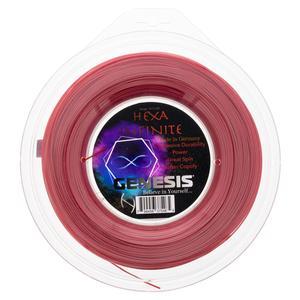 Hexa Infinite 1.30 Red Tennis String Reel