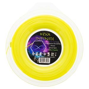 Hexa Infinite 1.30 Yellow Tennis String Reel
