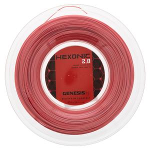 Hexonic 2.0 1.28 Red Tennis String Reel