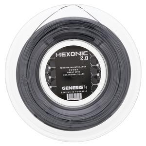 Hexonic 2.0 1.28 Black Tennis String Reel