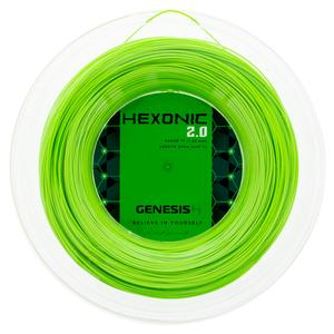 Hexonic 2.0 1.23 Green Tennis String Reel