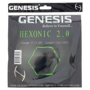 Hexonic 2.0 1.23 Green Tennis String