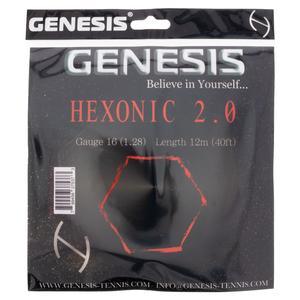 Hexonic 2.0 1.28 Red Tennis String