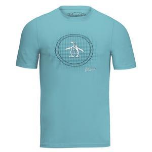 Men`s Trademark Graphic Tennis Tee Delphinium Blue