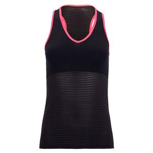 Women`s Kandy Tennis Tank Black and Pink