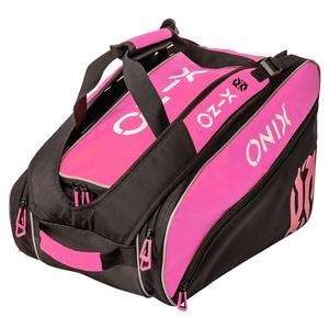 Pro Team Pickleball Paddle Bag Pink and Black