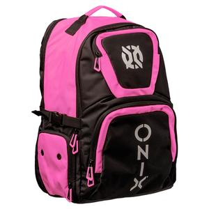 Pro Team Pickleball Backpack Pink and Black
