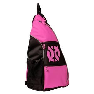Pro Pickleball Sling Bag Pink and Black