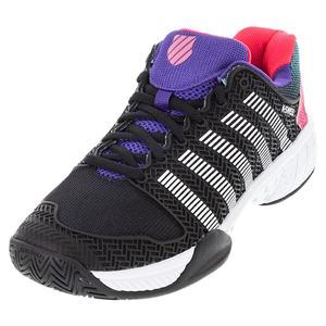 Men`s Hypercourt Express 2 LE Tennis Shoes Black and White