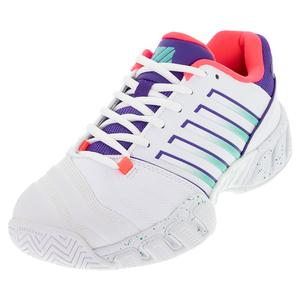 Men`s Bigshot Light 4 Tennis Shoes White and Liberty