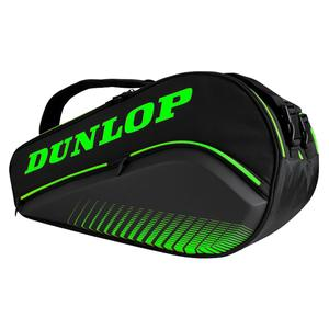 Elite Thermo Padel Luggage Bag Black and Green