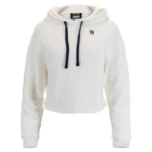 Women`s Speed Walk Tennis Pullover Hoodie Bright White
