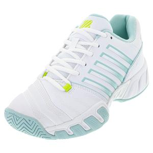 Juniors` Bigshot Light 4 Tennis Shoes White and Icy Morn