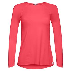 Women`s Sun Protector Extreme Tennis Top Coral