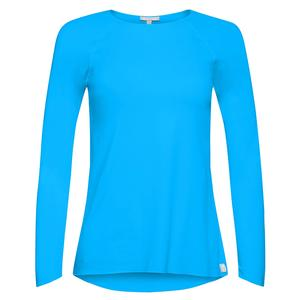 Women`s Sun Protector Extreme Tennis Top Turquoise