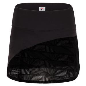 Women`s Slice 13.5 Inch Tennis Skort Black