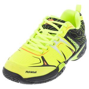 Unisex DinkShot Pickleball Shoes Lime and Black