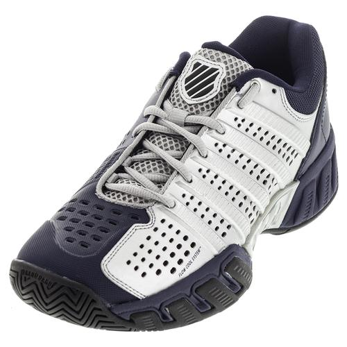 Men's Bigshot Light 2.5 Tennis Shoes Silver And Navy