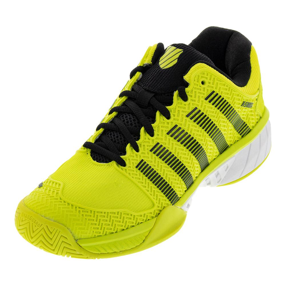 6a9cac0c6e ... Men s Hypercourt Express Tennis Shoes Neon Yellow And Black