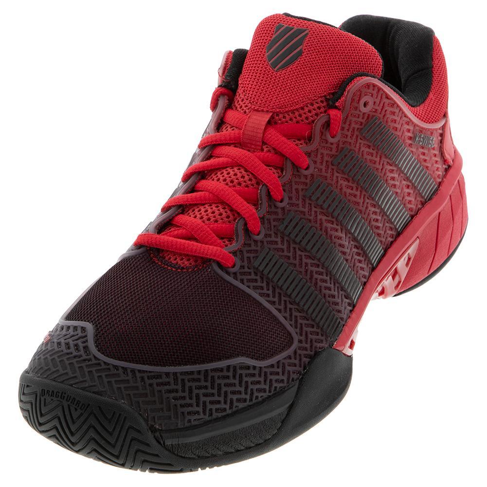 Men's Hypercourt Express Tennis Shoes Lollipop And Black