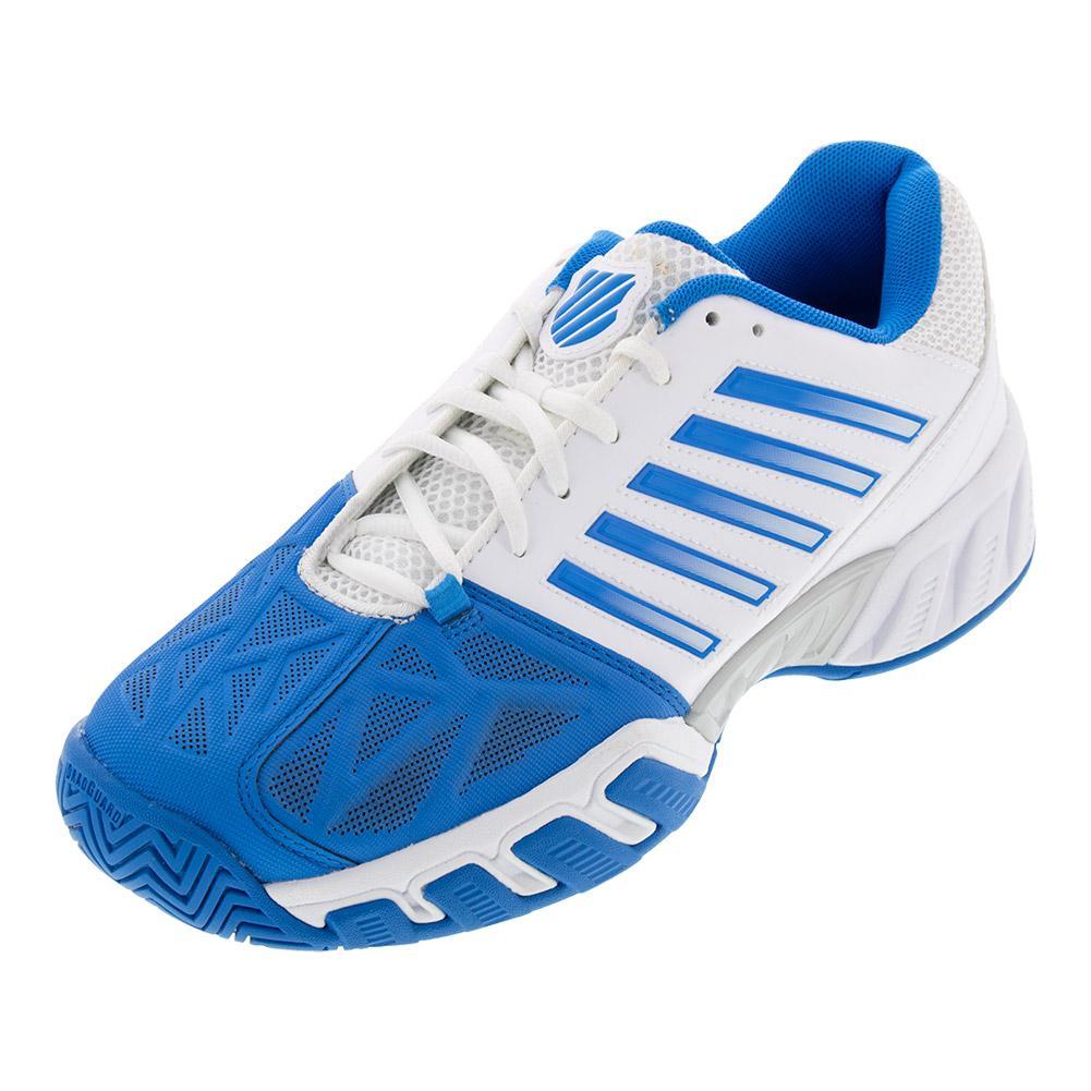 Men's Bigshot Light 3 Tennis Shoes White And Brilliant Blue