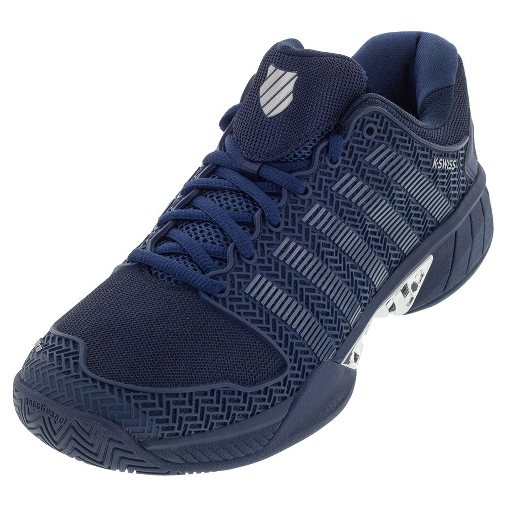 Men's Hypercourt Express Se Tennis Shoes Insignia Blue And Silver
