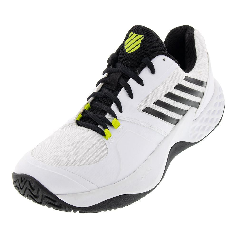 Men's Aero Court Tennis Shoes White And Black