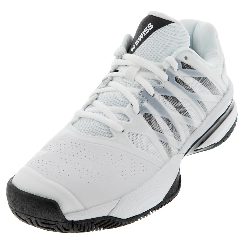 Men's Ultrashot 2 Tennis Shoes White And Black
