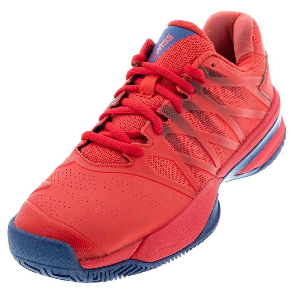Men's Ultrashot 2 Tennis Shoes Bittersweet And Dark Blue
