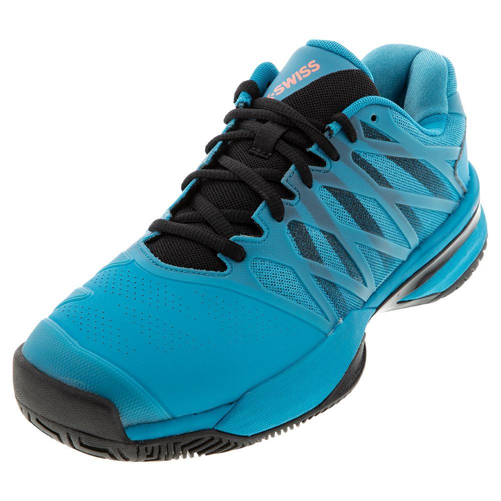 Men's Ultrashot 2 Tennis Shoes Algiers Blue And Black