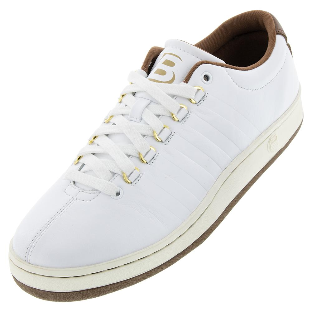 Men's Classic 88 Ii Bryan Brothers Lifestyle Shoes White And Dark Brown
