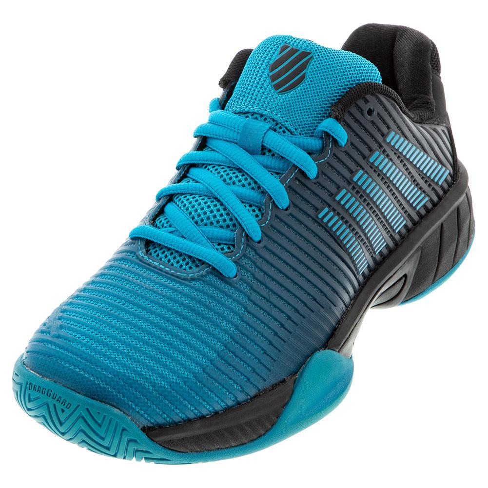 Men's Hypercourt Express 2 Tennis Shoes Algiers Blue And Black