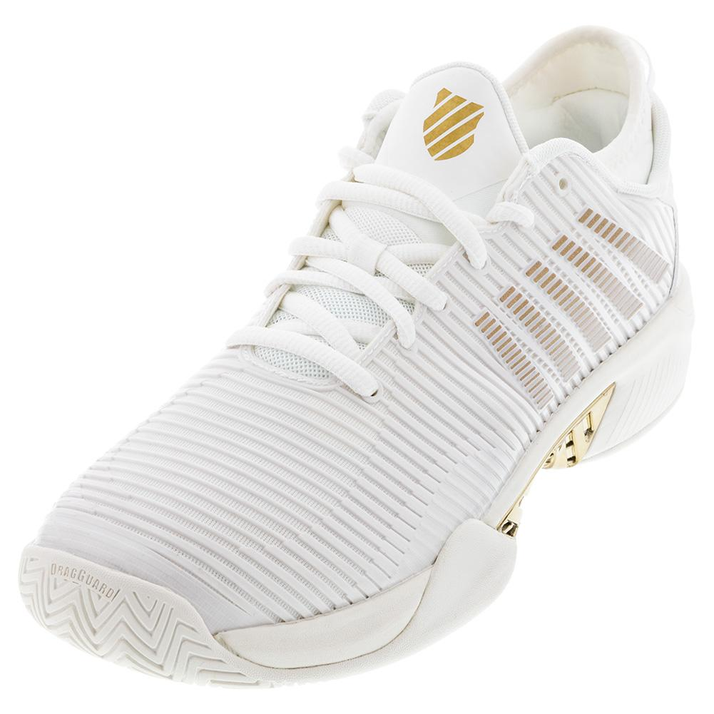 Men's Hypercourt Supreme Tennis Shoes White Alyssum And Gold